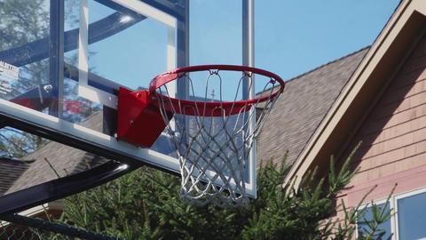 Outdoor basketball hoop (3 of 3) Footage