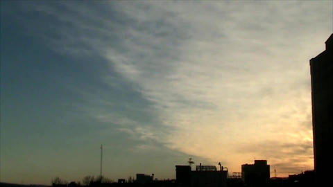 City Sunrise 2 stock footage