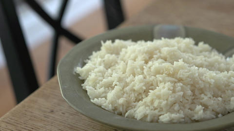 Plate of hot rice (1 of 4) Live Action