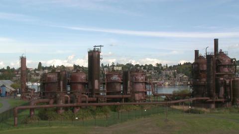Gasworks Park - Seattle Footage