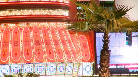Neon lights on the Vegas strip (2 of 3) Footage