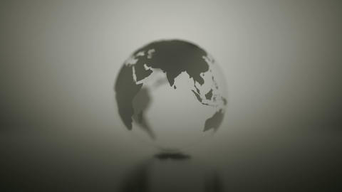 Abstract globe spinning in space. business Abstract.... Stock Video Footage