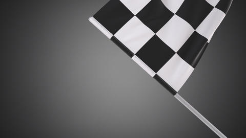 Slow-motion video flapping flag in full HD Footage