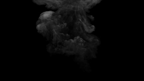 clouds of smoke animation in full hd Footage