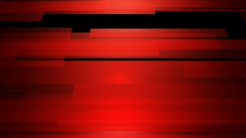 horizontal red shape Animation