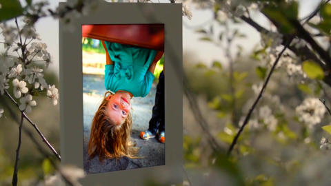 Spring Memories Nature Slideshow After Effects Template