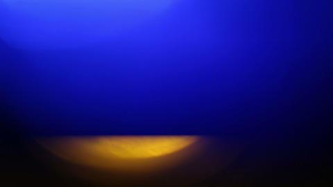 Flickering LED light at night Footage