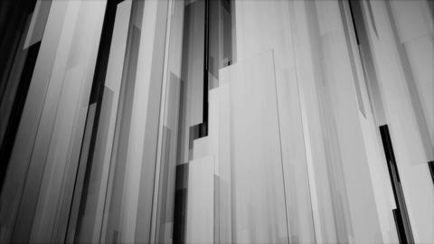 monocolor perspective shape Animation