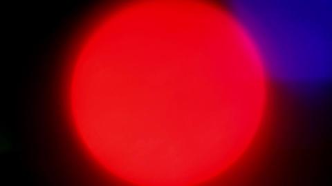 Blinking LED glow light at night Footage