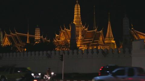 Night - temple of dawn Footage