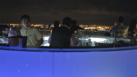 State tower sky bar bar tenders Footage