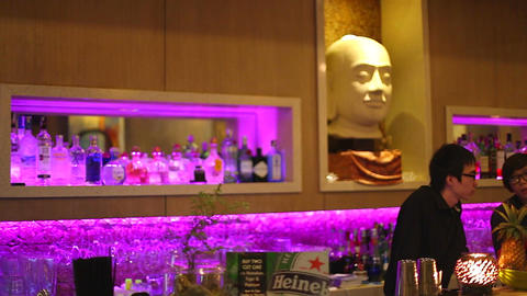 pan - chic lounge in Ho Chi Minh city Footage