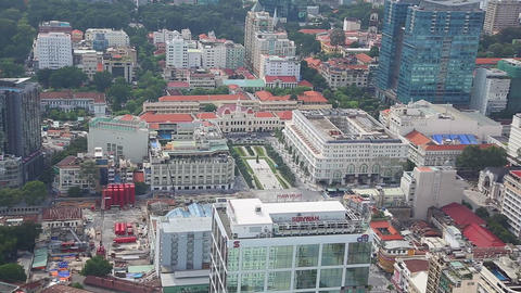zooming out aerial - Ho Chi Minh Square Footage