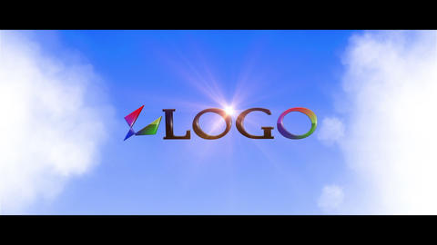 Logo in the Skies After Effects Template