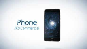Phone 30s Commercial - After Effects Template After Effectsテンプレート