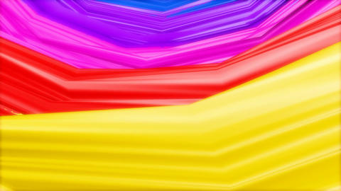 rainbow colour paint Animation