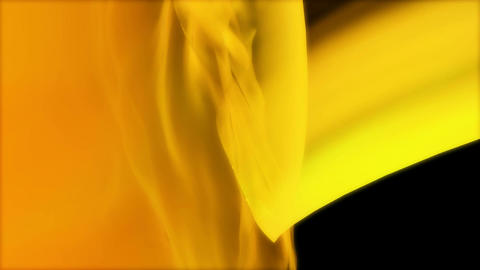 yellow colour wrap Animation