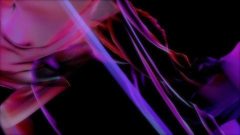 violet silk dance Animation