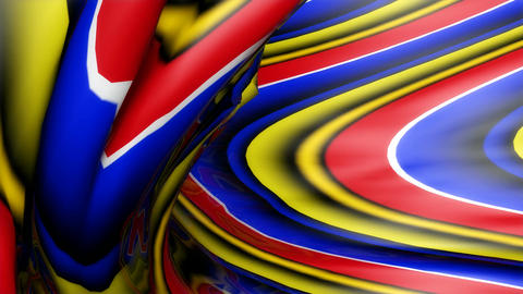 Flag Color Swirl stock footage
