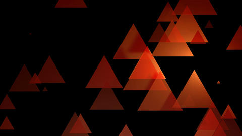 reddish yellow triangle Animation