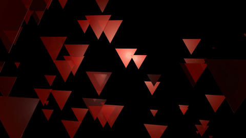 reddish triangle movement Animation