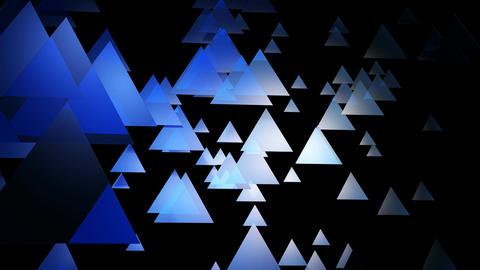 blue triangle motion Animation