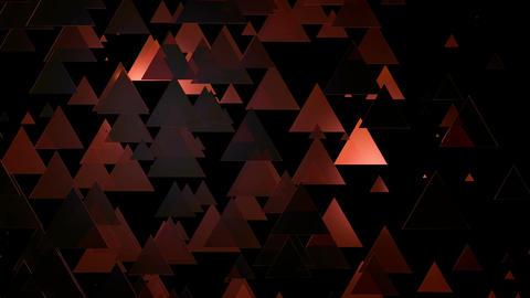 hot triangle lights Animation