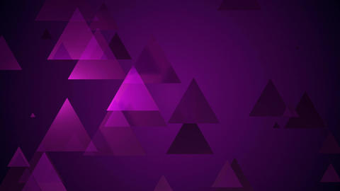 dark violet triangle Animation