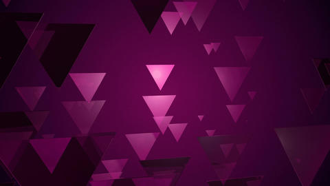 purple triangle movement Animation