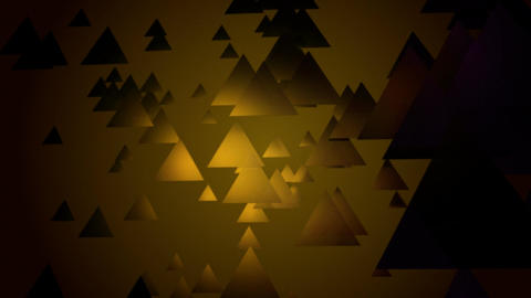yellow spot triangle Animation
