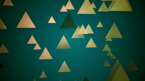 retro moving triangle Animation