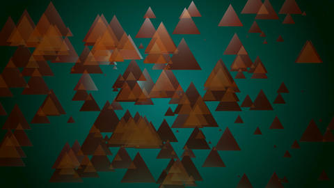 brown spotlights triangle Animation