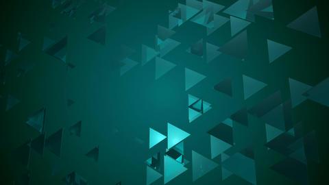 wavy bluish trigonal Animation