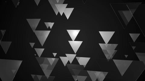 white triangle movement Animation