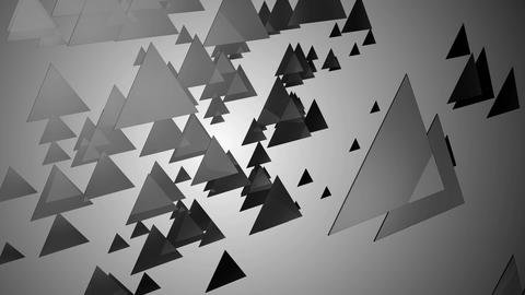 monochrome triangle space Animation