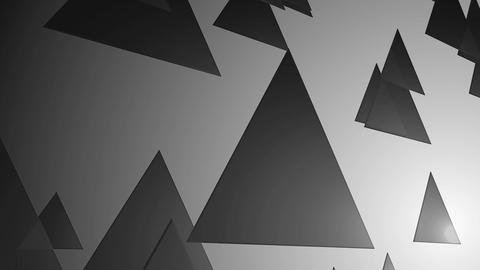 spot monochrome triangle Animation
