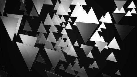 glowing triangle luminance Animation