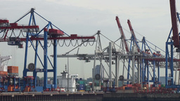 Hafen 10 stock footage