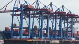 Hafen 10 stock footage