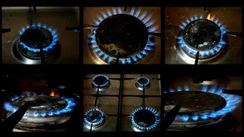gasfire Footage