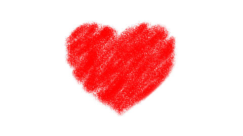 Heart Drawing Animation