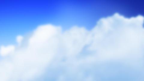 Sale Plane in Clouds (Loop) Stock Video Footage