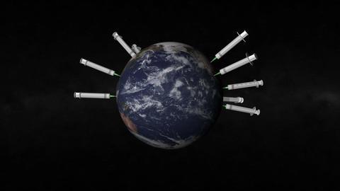 World Shpric loop Animation