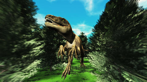恐竜 Stock Video Footage