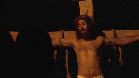 crucifixion vinegar Stock Video Footage