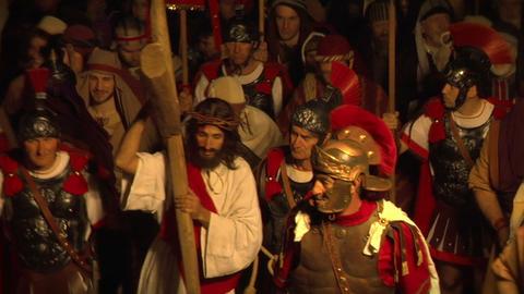 via crucis 01 Stock Video Footage