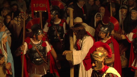 via crucis 03 Stock Video Footage