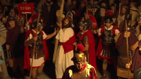 via crucis 03 Stock Video Footage