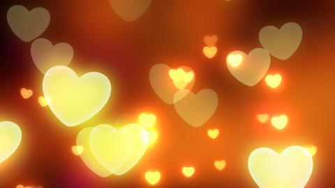 Neon Light Pan Heart C HD Stock Video Footage