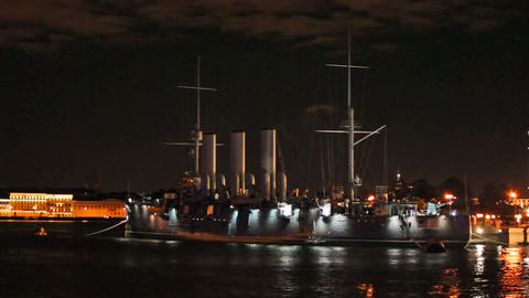 The Cruiser Aurora Stock Video Footage